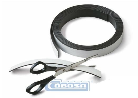 bandas magnéticas adhesivas